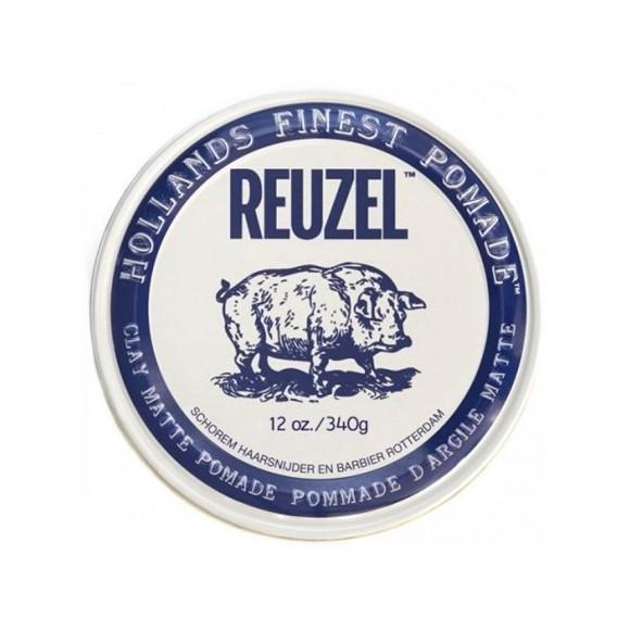 Reuzel Clay Matte Pomade Hog Water Soluble (340g)