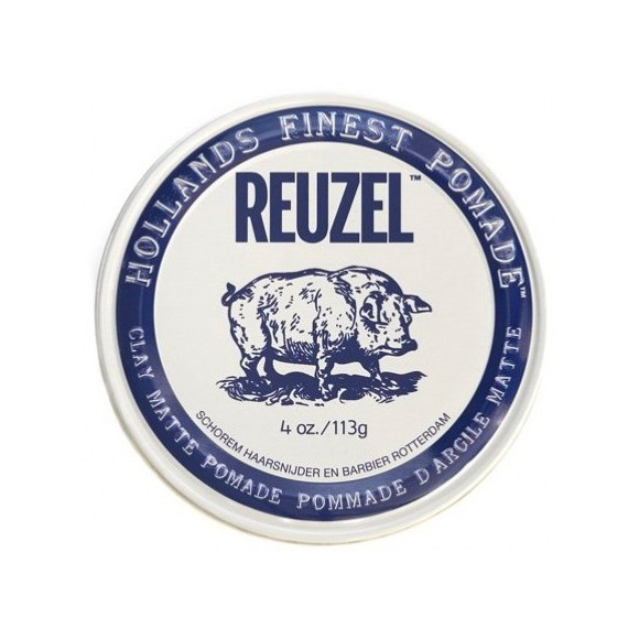 Reuzel Clay Matte Pomade Pig Water Soluble (113g)