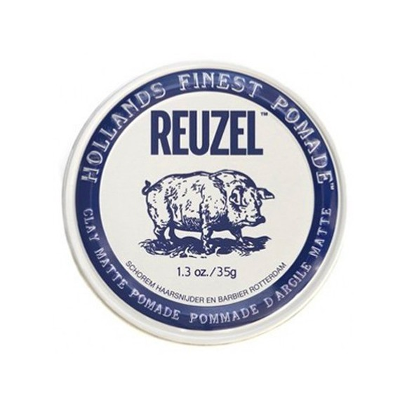 Reuzel Clay Matte Pomade Piglet Water Soluble (35g)