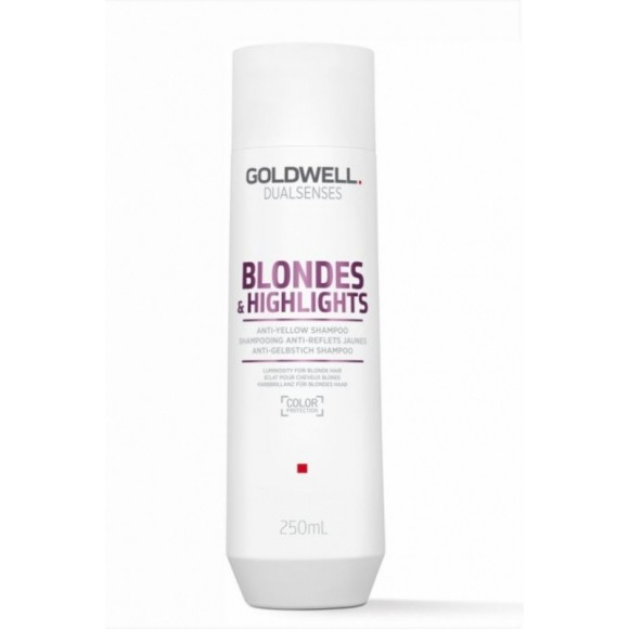 Goldwell Dualsenses Blonde & Highlights Anti-Yellow Shampoo (250ml)
