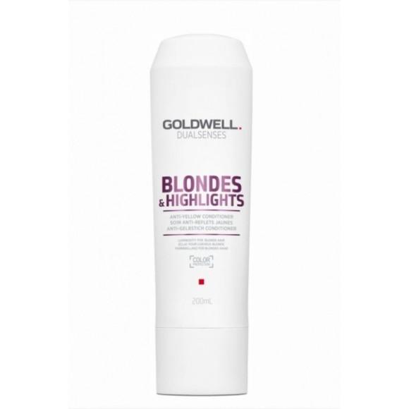 Goldwell Dualsenses Blonde & Highlights Anti-Yellow Conditioner (200ml)